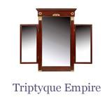 La collection Taillardat comprend aussi des miroirs….