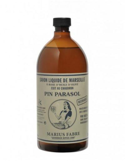 Savon liquide naturel de Marseille ou noir chez Marius Fabre !