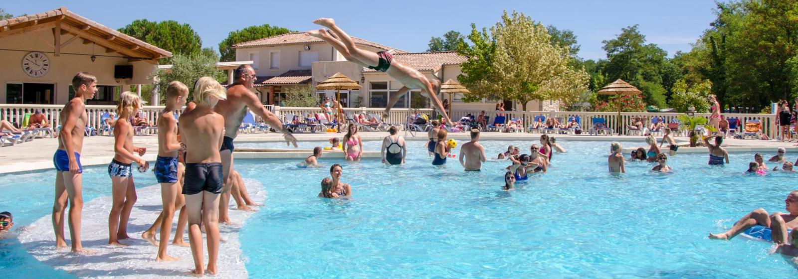 Camping Ardeche piscine